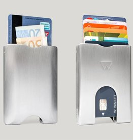 Walter Wallet Walter Wallet aluminium silver