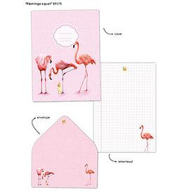 Enfant Terrible Enfant Terrible briefpapier 'flamingo squat'