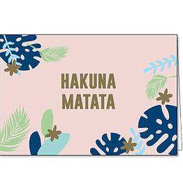 Enfant Terrible Enfant Terrible card + enveloppe 'hakuna matata'