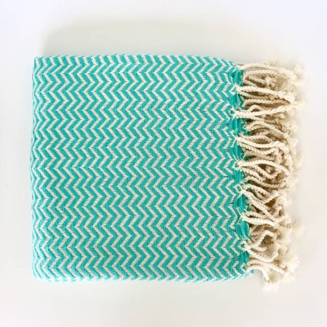 Bon Bini Bon Bini towel Chikitu mint
