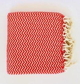 Bon Bini Bon Bini towel Chikitu red