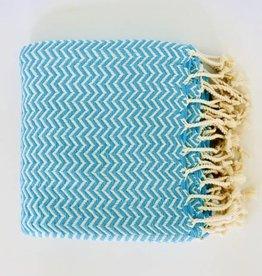 Bon Bini Bon Bini towel Chikitu turquoise
