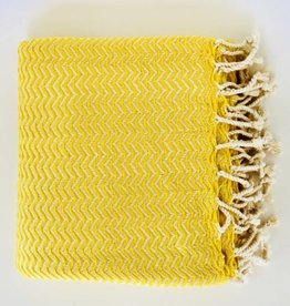 Bon Bini Bon Bini towel Chikitu yellow