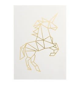 Timi Timi postcard unicorn