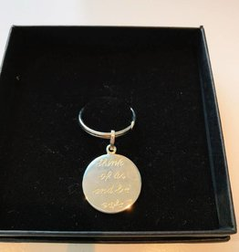 Anne Zellien Anne Zellien sentimental keyholder think of us silver