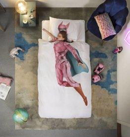 Snurk Bedding Snurk Superhero pink 140 x 200/220
