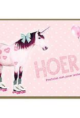 Enfant Terrible Enfant Terrible card + enveloppe 'hoera, proficiat met jouw lentefeest'
