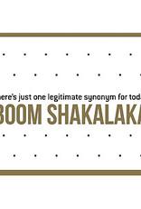 Enfant Terrible Enfant Terrible card + enveloppe 'boom shakalaka'