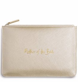 Katie Loxton Katie Loxton pouch mother of the bride - metallic gold 24x16 cm