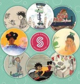Studio Sesam Sesam-box II: 4 kleurrijke superdiverse kinderboeken