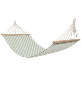 Bloomingville Bloomingville hammock green cotton 200x100 cm