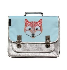 Caramel & cie Schoolbag medium Renard (fox) 38 x 31x12 cm