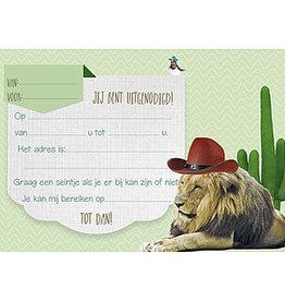 Enfant Terrible Enfant Terrible 5 invitations lion