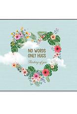 Enfant Terrible Enfant Terrible card + enveloppe 'no words only hugs'