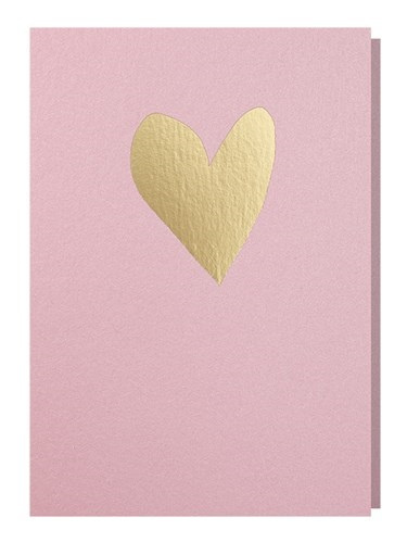 Papette Papette greeting card love 'blink pink red'