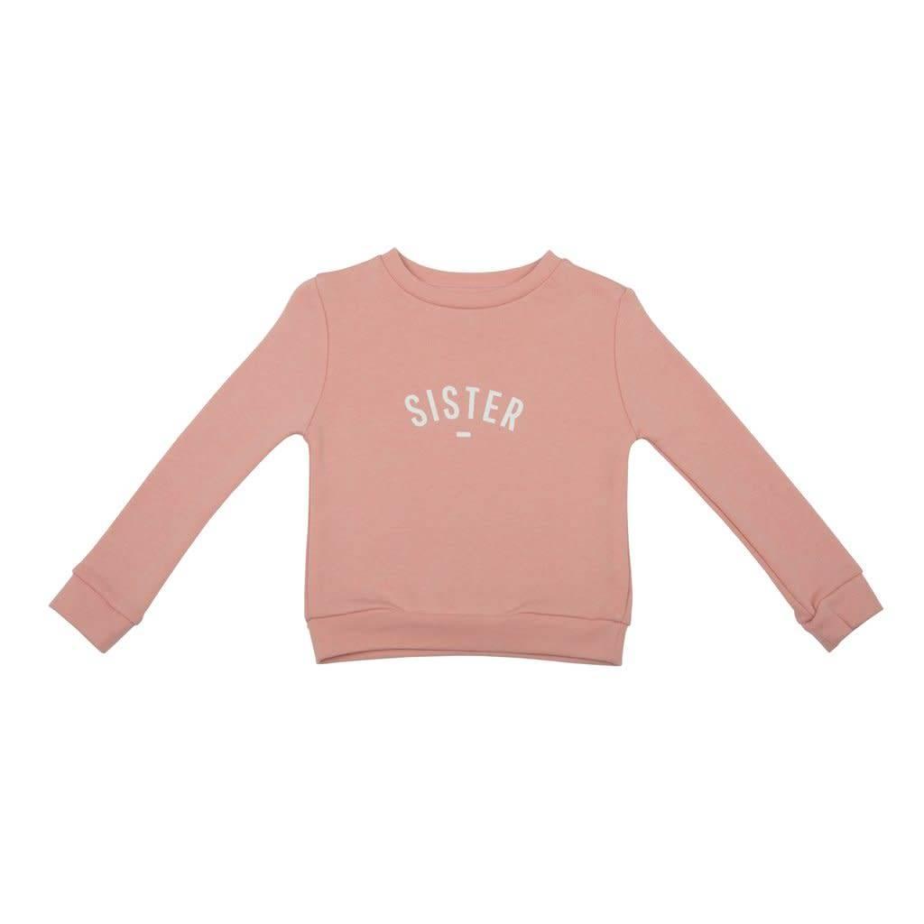 Bob & Blossom Blush pink 'sister sweater