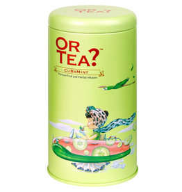 Or Tea Or Tea? Tin canister Cuba mint