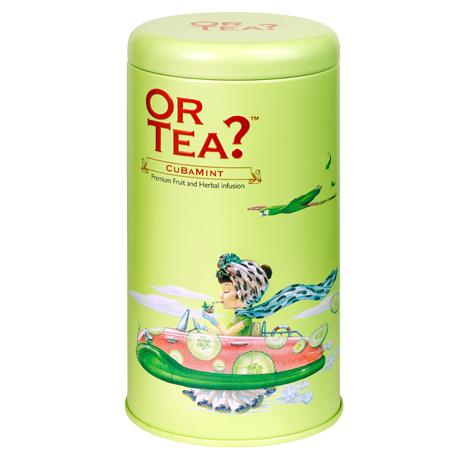 Or Tea? Or Tea? Tin canister Cuba mint