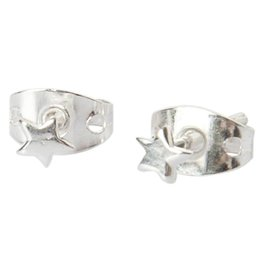 Betty Bogaers Betty Bogaers mini star stud earrings silver