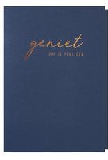 Papette Papette greeting card + enveloppe 'Geniet van je pensioen'