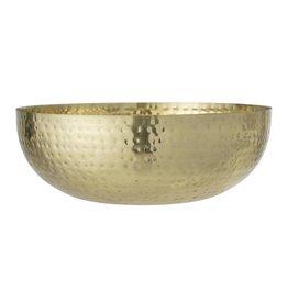 Bloomingville Bloomingville bowl gold metal 36x13 cm