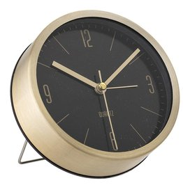Bloomingville Bloomingville table clock gold 11.5x4 cm