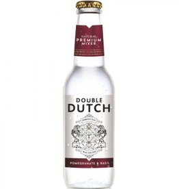 Deluxe Distillery Double Dutch 4 pomegranate & basil mixers 200 ml.