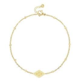 My Jewellery My Jewellery bracelet gold 'joie de vivre'