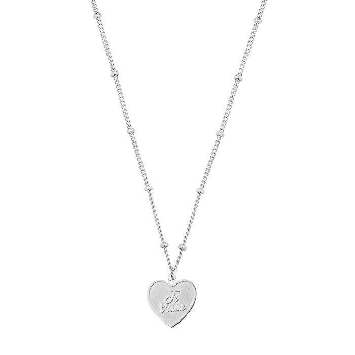 My Jewellery necklace silver 'Je t'aime'