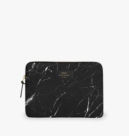 Wouf Wouf Black marble Ipad sleeve
