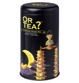 Or Tea Or Tea? Towering Kung Fu tin canister 100 gr.