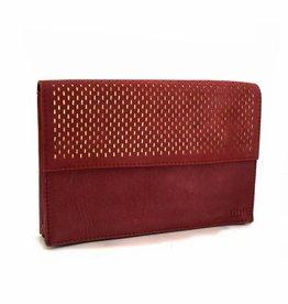 Détail Detail handbag Marvel burgundy