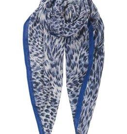 Becksondergaard Beck Sondergaard Emira scarf blue nights