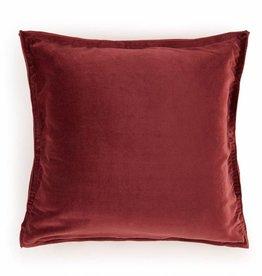 Goround Interior Cushion velvet bordeaux 45 x 45 cm