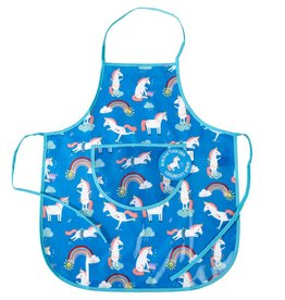 Rex London Colourful Creatures kids apron unicorns