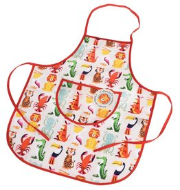 Rex London Colourful Creatures kids apron  animals