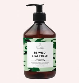 The Gift Label Hand soap 500 ml - Be wild stay fresh