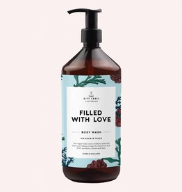 The Gift Label Body wash 1 liter - Filled with love