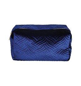 &Klevering &K Levering velvet case blue large