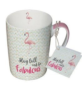 Paperproducts Design Mug 10.5x8 cm 'stay tall and be fabulous'
