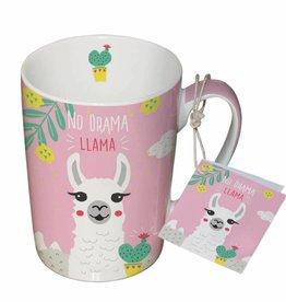 Paperproducts Design Mug 10.5x8 cm 'no drama llama'