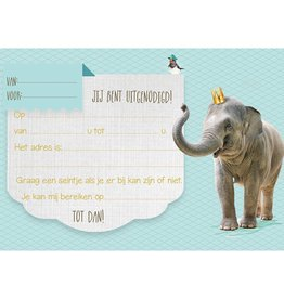 Enfant Terrible Enfant Terrible 5 invitations elephant