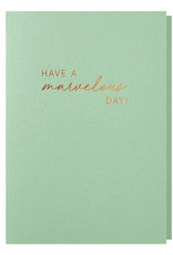Papette Papette greeting card + enveloppe 'have a marvelous day'