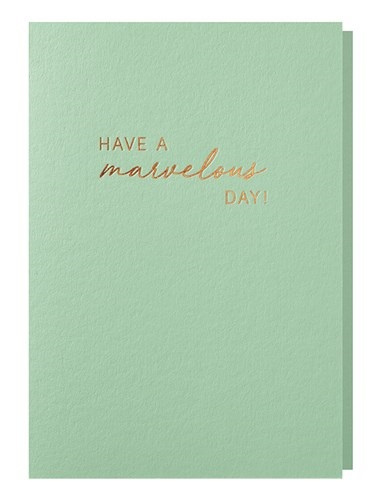 Papette Papette greeting card ocean 'have a marvelous day'