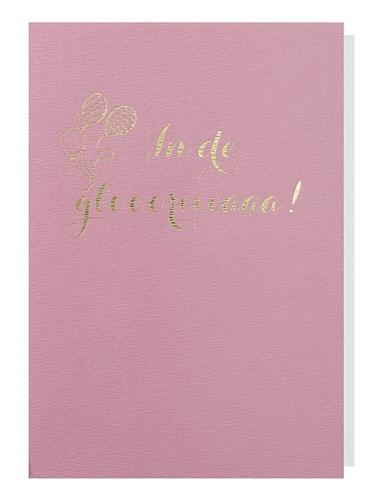 Papette Papette greeting card + enveloppe 'in de gloriaaa'