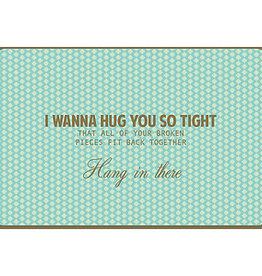 Enfant Terrible Enfant Terrible card + enveloppe 'I wanna hug you so tight'