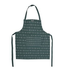 Bloomingville Bloomingville apron green 88 x 77 cm