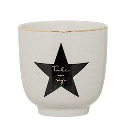 Bloomingville Bloomingville venus cup'take a sip' 7 x 7 cm