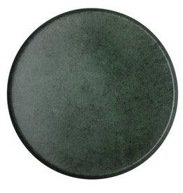 Bloomingville Bloomingville tray green aluminium 40 x 2.5 cm