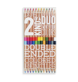 Ooly Ooly 2 of a kind double sides pencils